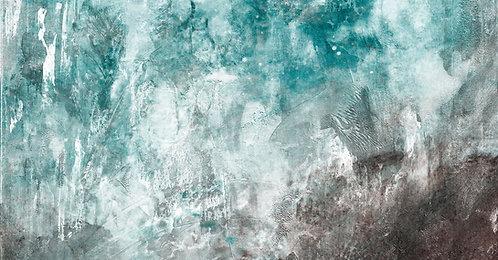 Gemälde Sven Joerg Hansen, abstrakt, Kunstdruck, surreal, lyrisch
