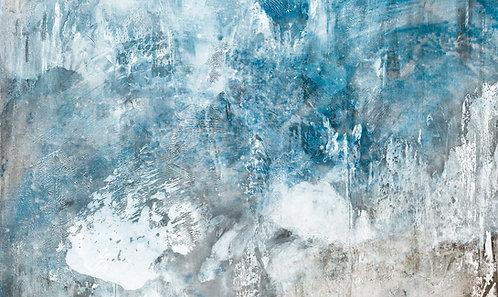 Gemälde Sven Joerg Hansen, abstrakt, Tibet, Kunstdruck, surreal