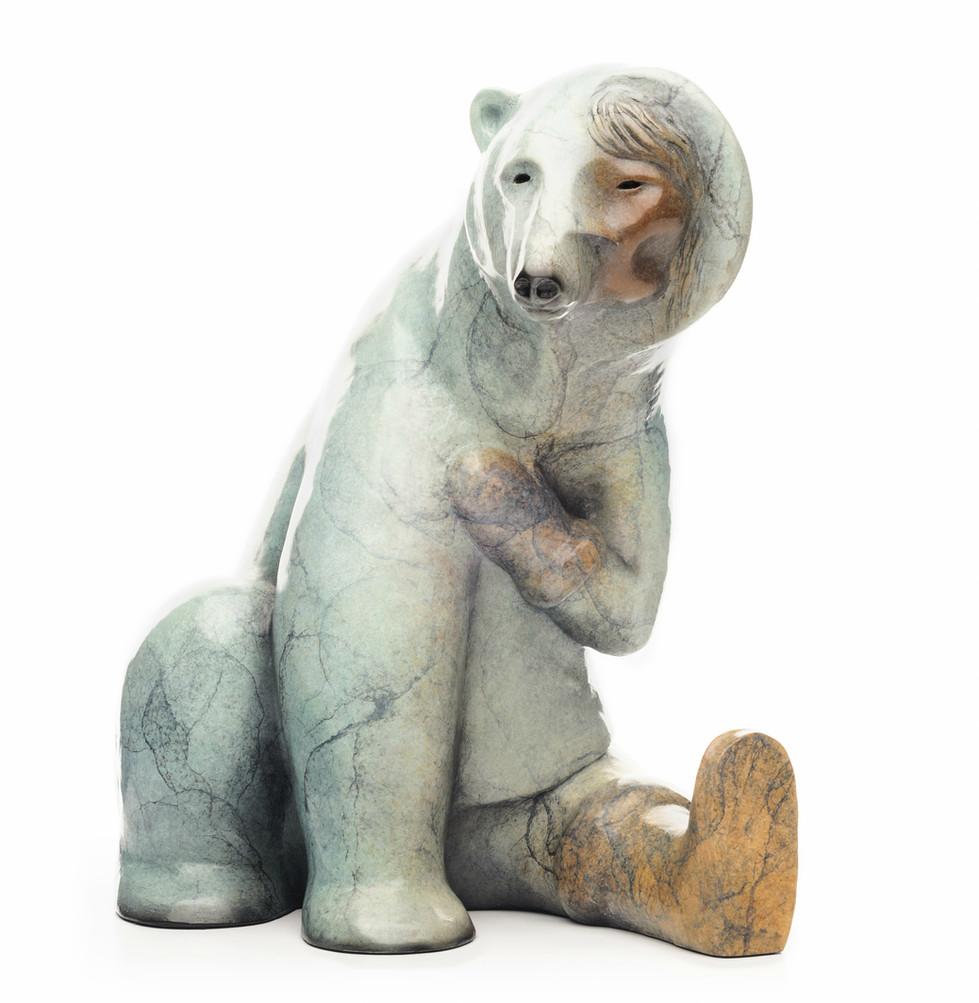 Woman Transforming into Bear