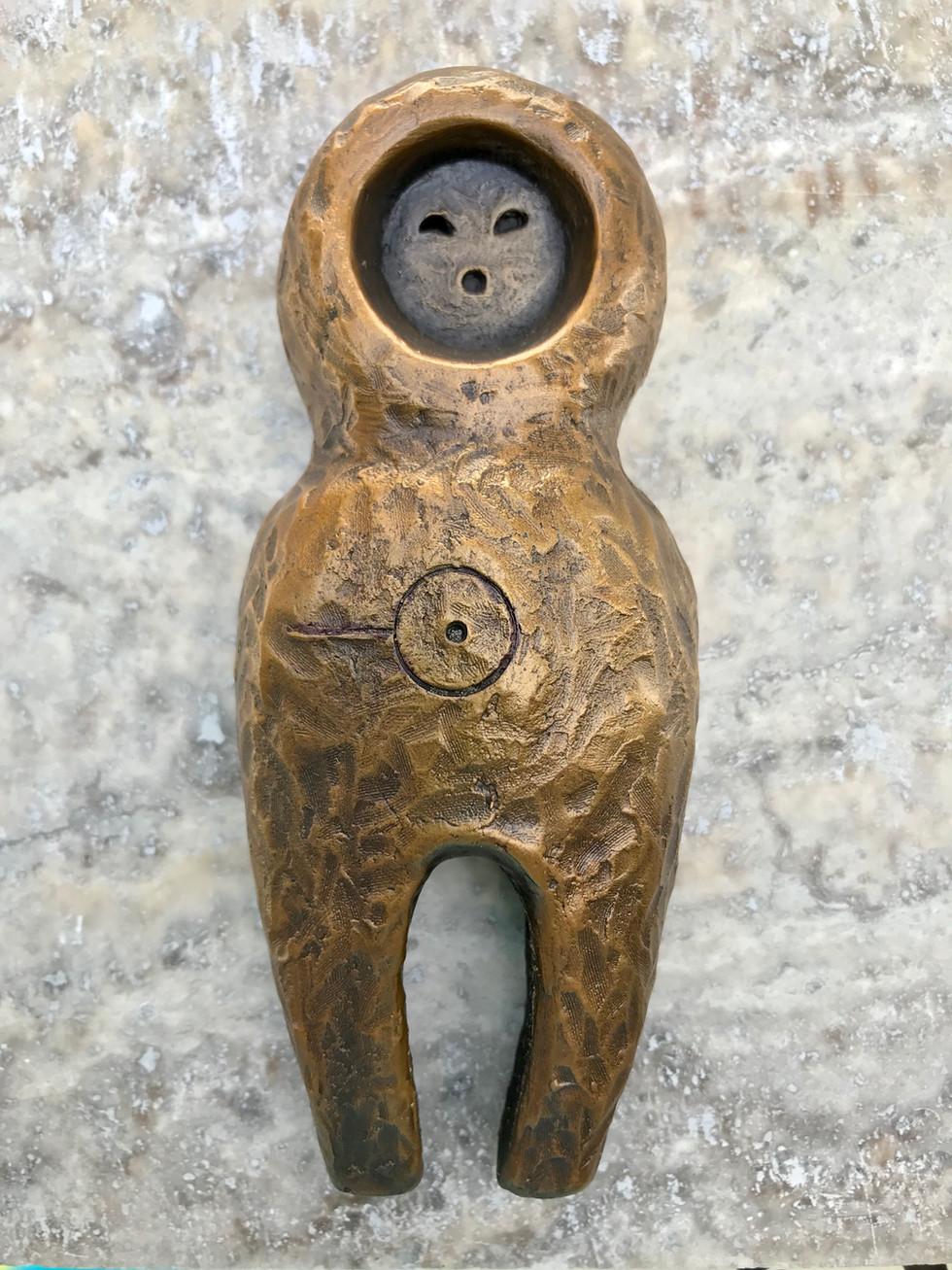 Bronze Friendship Amulet, The Speaker