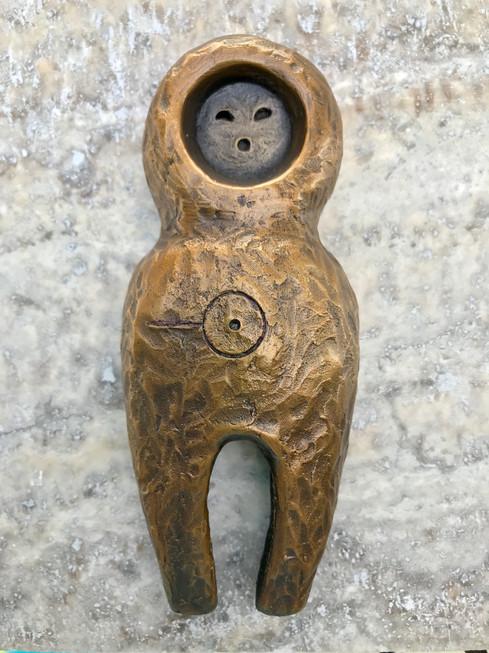 Bronze Friendship Amulet: The Speaker