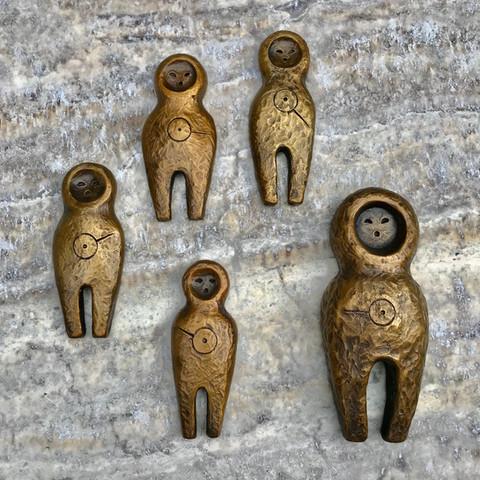 Bronze Friendship Amulet Set