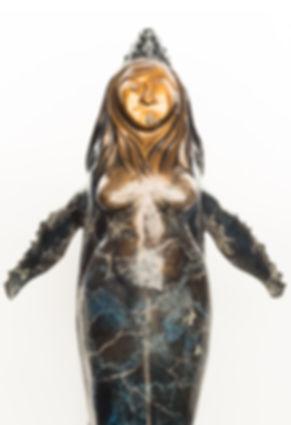 sedna sculpture, alaska native art
