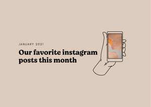 January Round-Up: Our favorite instagram posts this month
