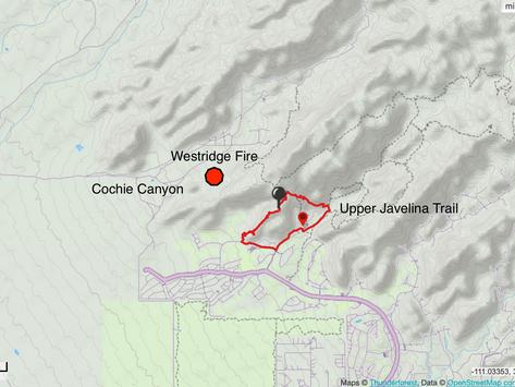 TA Alert-Westridge, Dove & Edwin Fires