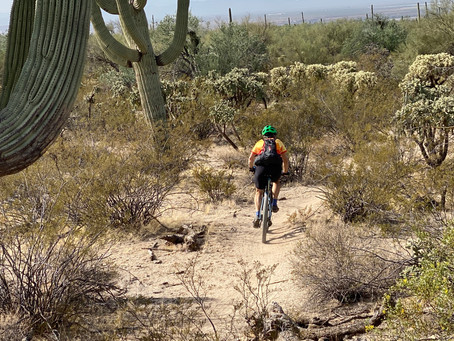 Mountain Bikers Join The Cause