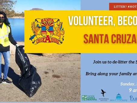 Santa Cruz River Cleanup