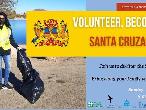 Santa Cruz River Cleanup