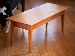 shaker style coffee table | maineland furniture - hand-made in maine