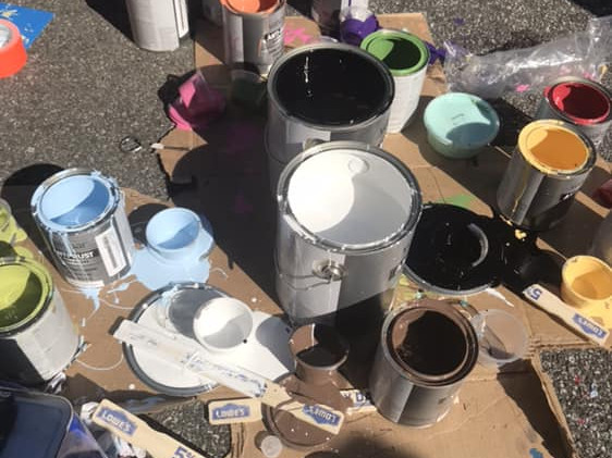 Hydrant Painting Day