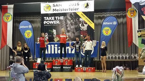 SAM Meisterfeier, Vice Schweizermeister