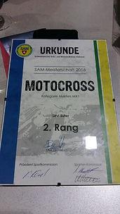 Levi Suter Motocross SAM 2.Rang