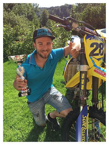Team Motocross4Fun Levi Suter