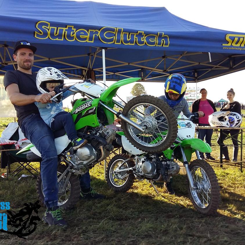 Motocross Kinderparcours am SAM Motocross Schlatt bei Winterthur 07./08.09.2019