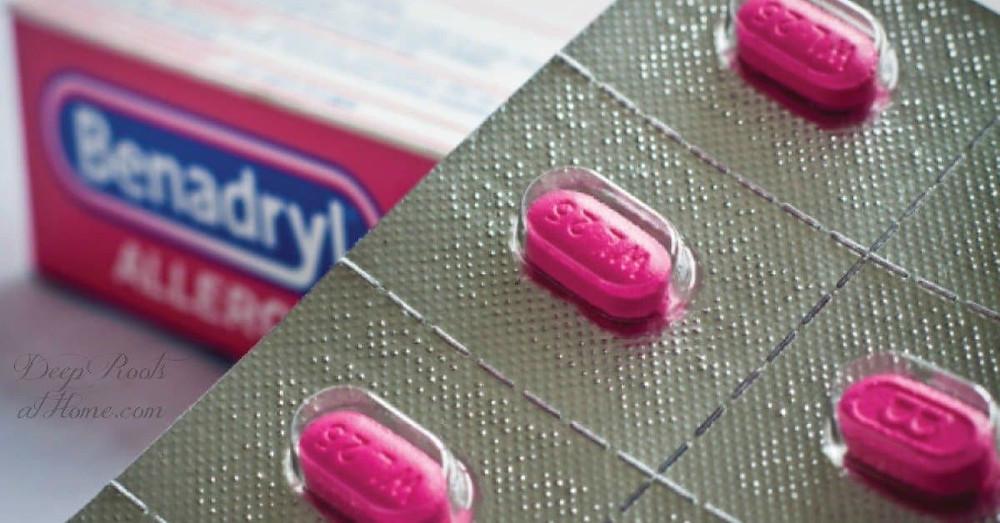 Benadryl tablets