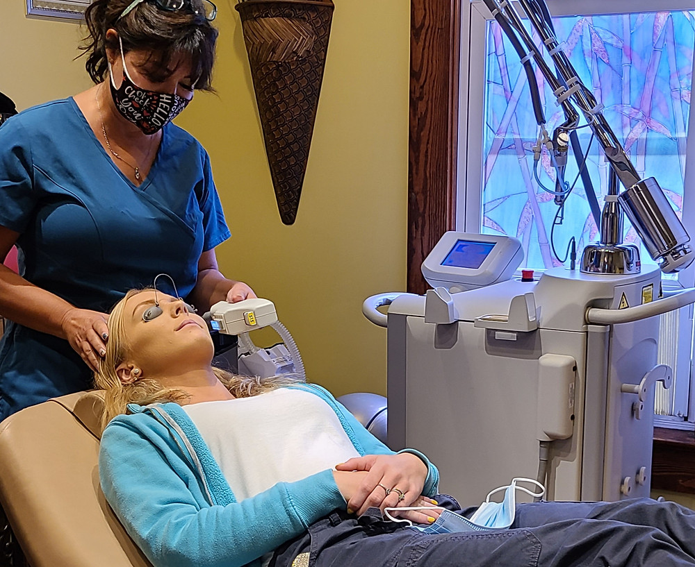 Dr. Parsons performs all IPL treatments