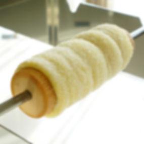 Chimney Cake on Roller