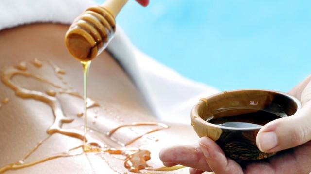 Wellness mézes masszázs
