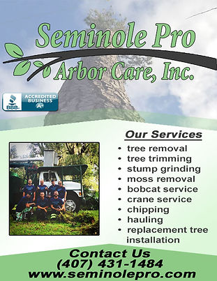 Seminole Pro Arbor Care, Inc Corrections