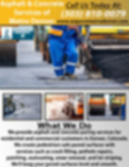Asphalt & Concrete Services of Metro Den