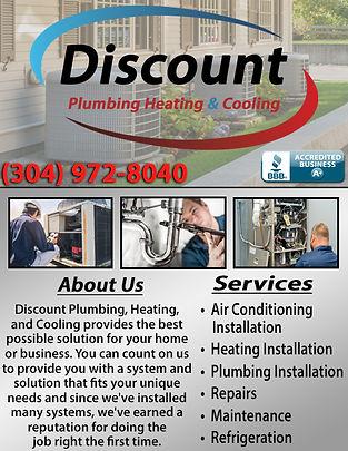Discount Plumbing, Heating, & Cooling Co