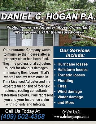 Daniel C. Hogan Licensed Public Adjuster