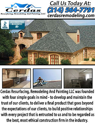 Cerdas Resurfacing, Remodeling And Paint