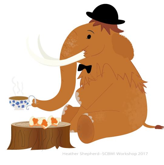 British Wooly Mammoth