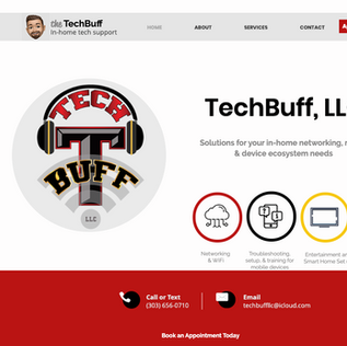Website - In-home tech support