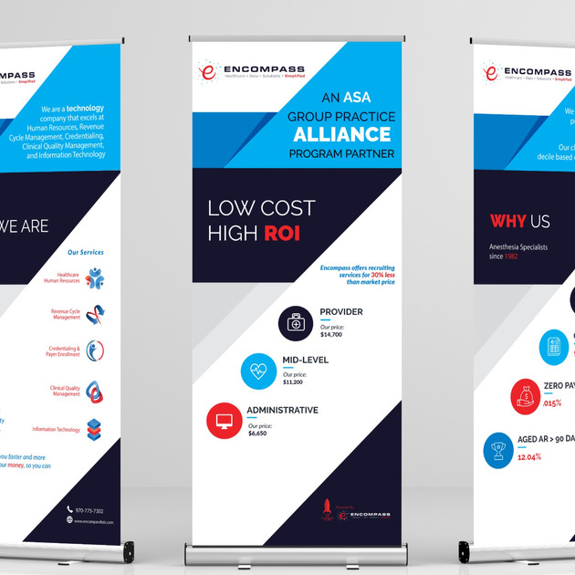 Rollup Banners for Conference