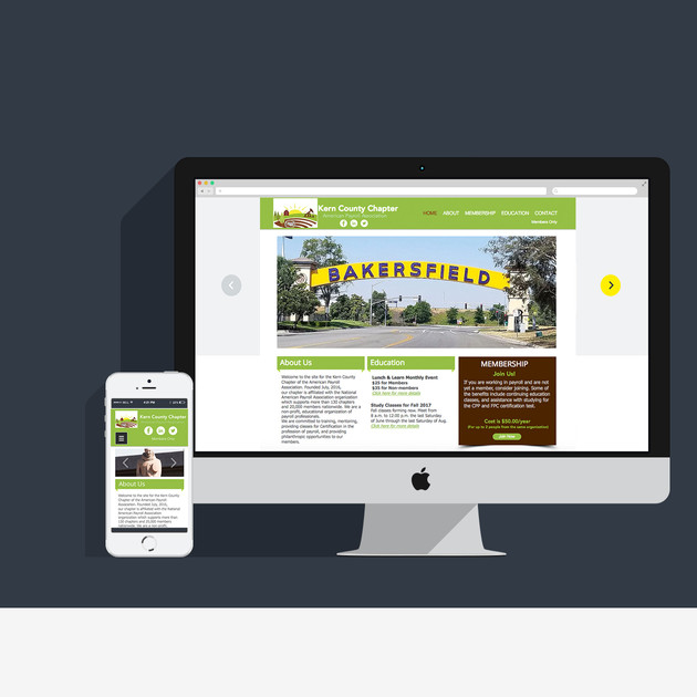 Web site for Payroll Association
