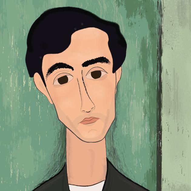 Modigliani Portrait