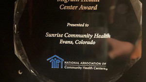 SUNRISE HONORED AS THE OUTSTANDING MIGRANT HEALTH CENTER IN THE U.S.