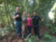Jungle trekking in the Gunung Leuser National Park, Tangkahan, North Sumatra
