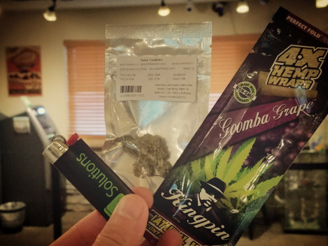 Review: Sour Cookies Rolled Into a Goomba Grape Hemp Wrap