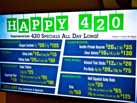 Got a Minute? 420 Specials All Day At 2020 Solutions
