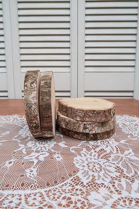 Rondin de bois 10cm