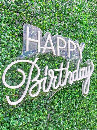 "Néon ""Happy Birthday"""
