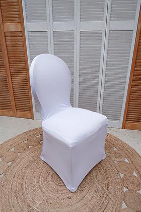 Housses de chaise blanches PREMIUM
