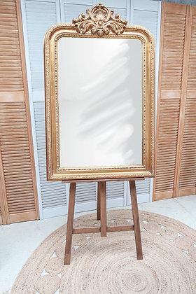 Miroir doré personnalisable