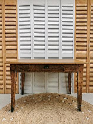 Ancien bureau en bois