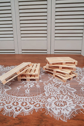 Mini palette en bois