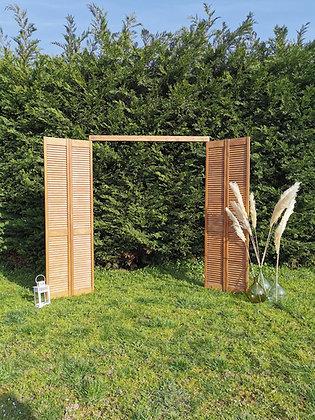 Arche en portes bois