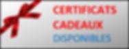 gite hébergement Marmotte Eastman Canton-de-l'Est B&B certificat cadeau