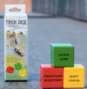 Beginner Trick Dice - A Skaterboarding Game Learn to skateboad the fun way with a lot different tricks and a chance to play with your friends