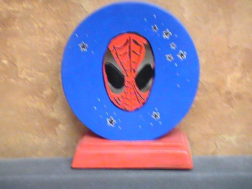 Arachnid man lamp painted