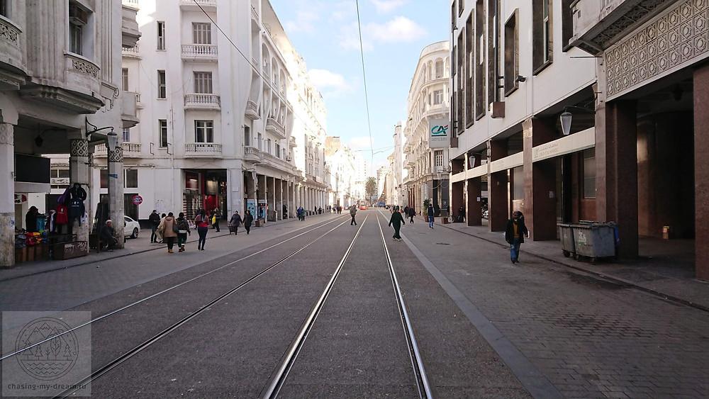 современный район Касабланки - самобытно по миру