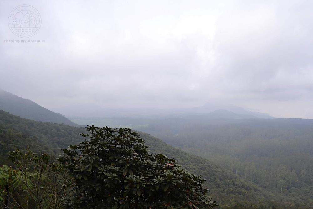 парк Horton Plains на Шри-Ланке, самобытно по миру