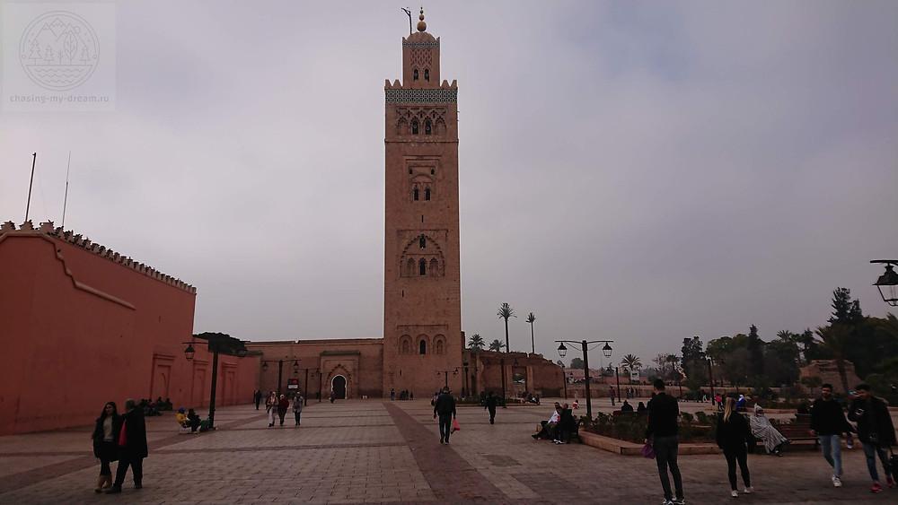 мечеть в Марракеше - самобытно по миру