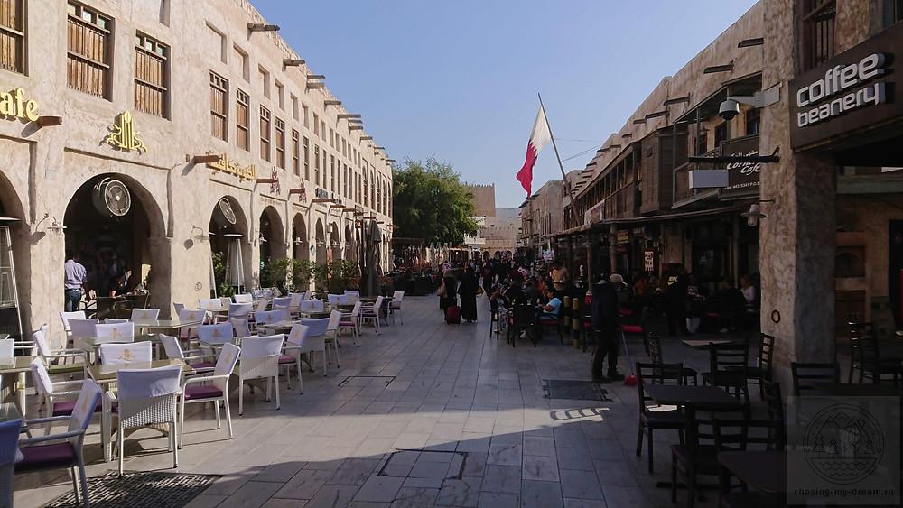 район Souk Waqif в Дохе - самобытные путешествия по миру